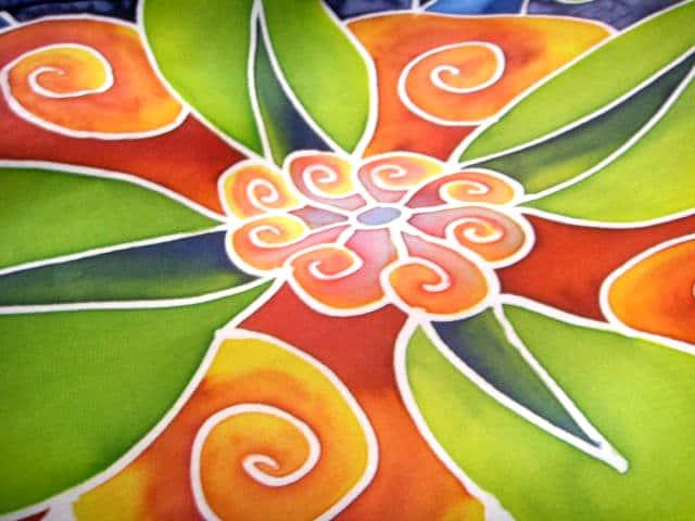 Zijdeschilderen tips. Bron: yumigawa.deviantart.com