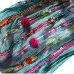 Sjaal versieren is oude sjaal pimpen
