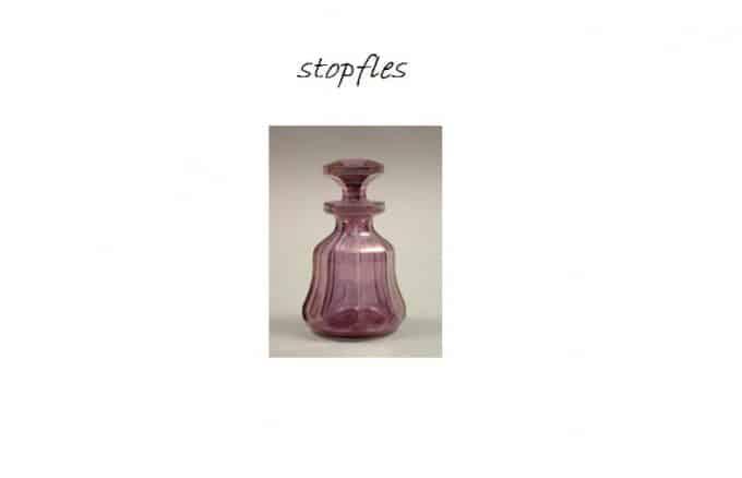 stopfles