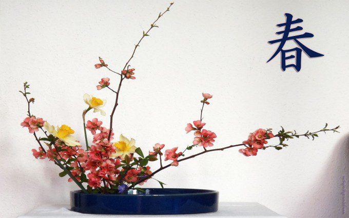 bloemschikken en ikebana