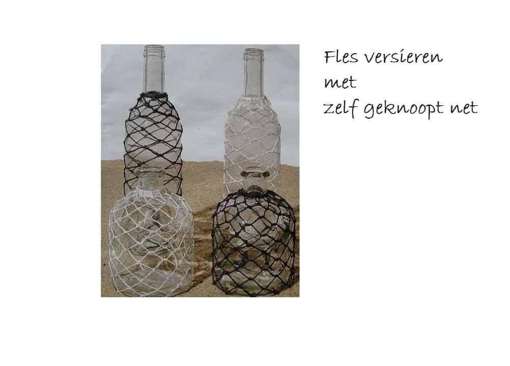Flessen versieren en decoreren - Versieren van een muur in ...