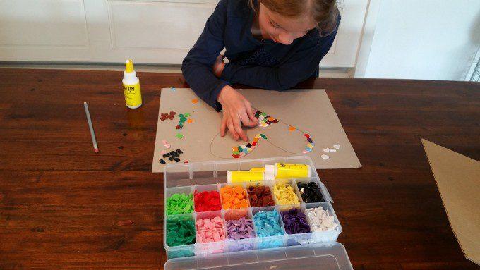 mozaieken met mozaiekpakket 3