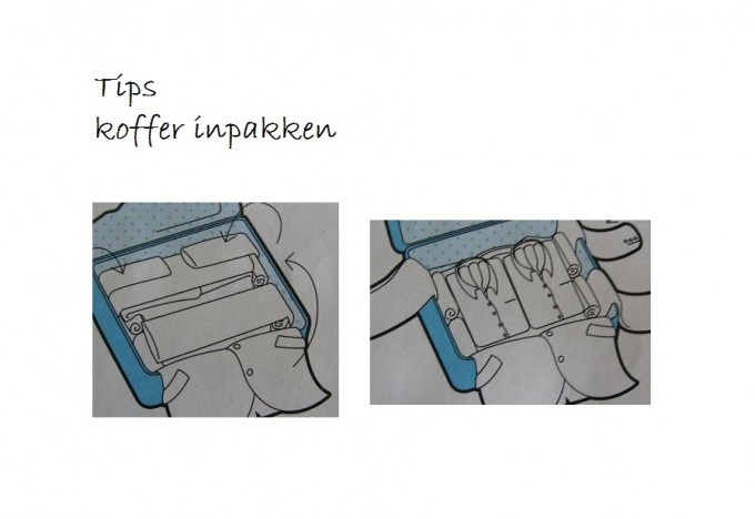 tips koffer inpakken