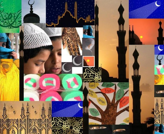 ramadan collage maken