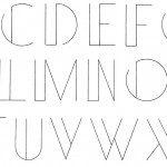 Letters cijfers tekst taart banket