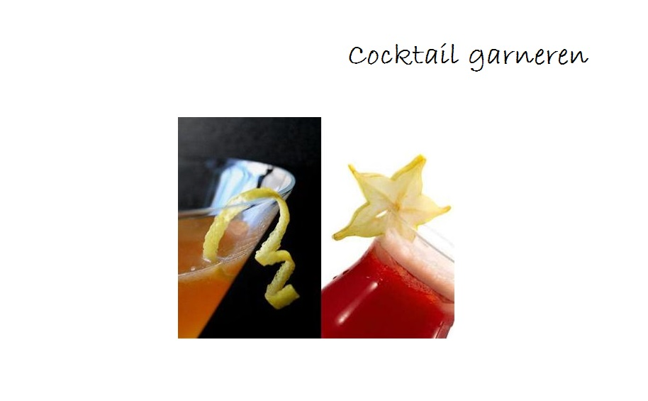 garneren cocktail