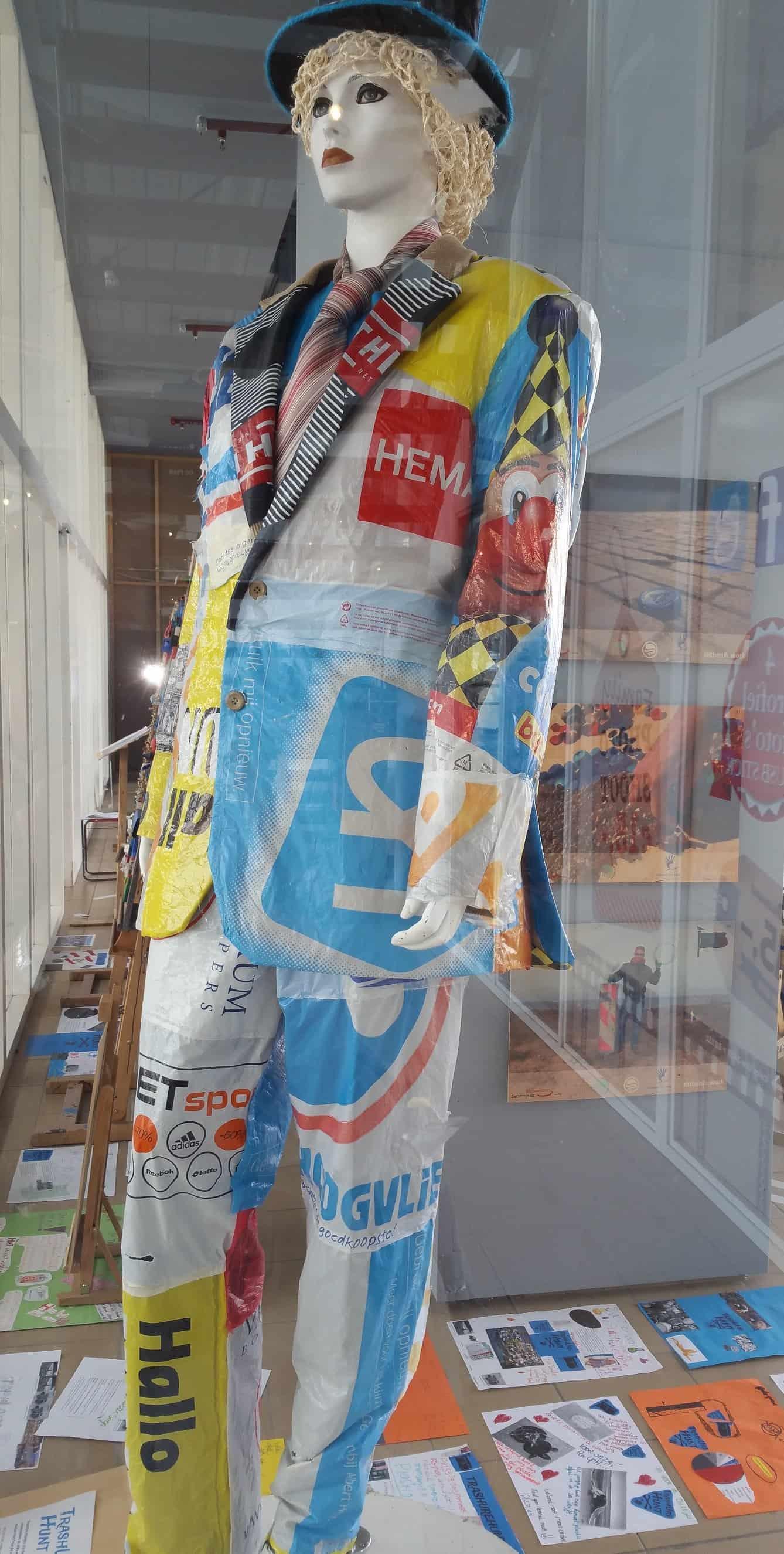 pak maken van plastic draagtassen