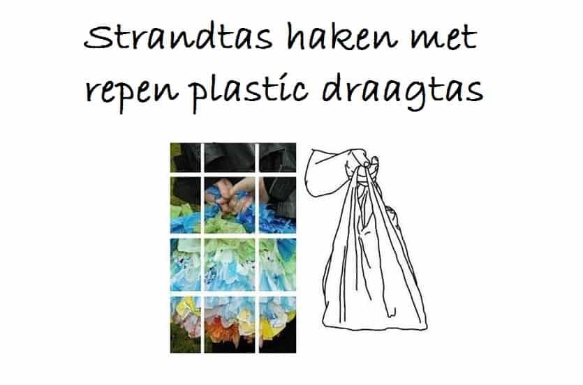 Strandtas Haken Van Plastic Tasjes Hobbyblogonl