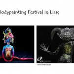 Bodypainting festival in Lisse