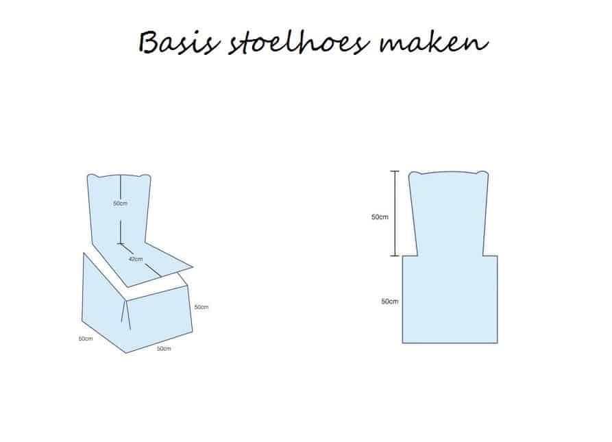basis werkuitleg stoelhoes maken 1