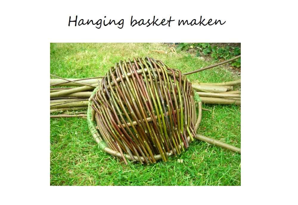 hanging basket maken