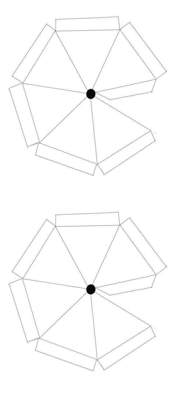 wespen parasol bouwplaat blanco