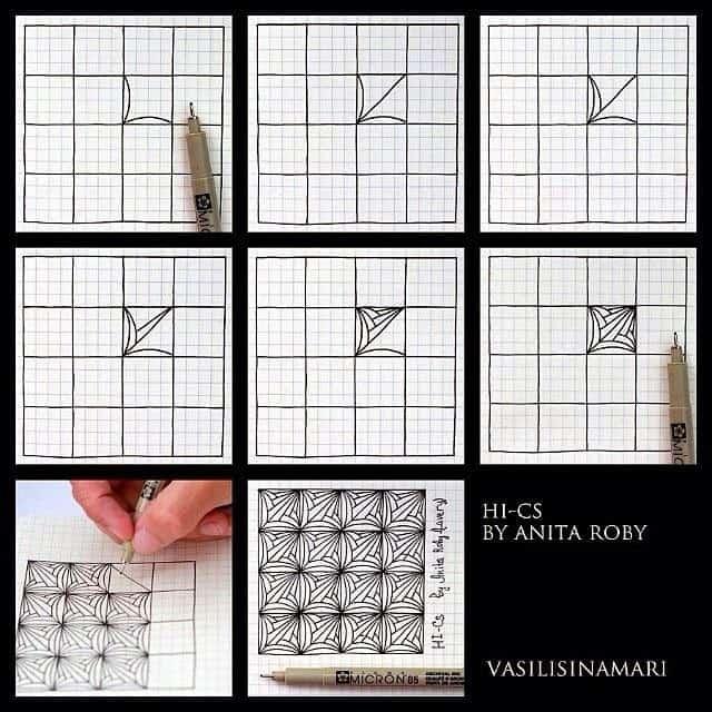 kleine tekening maken van 9 x 9 cm