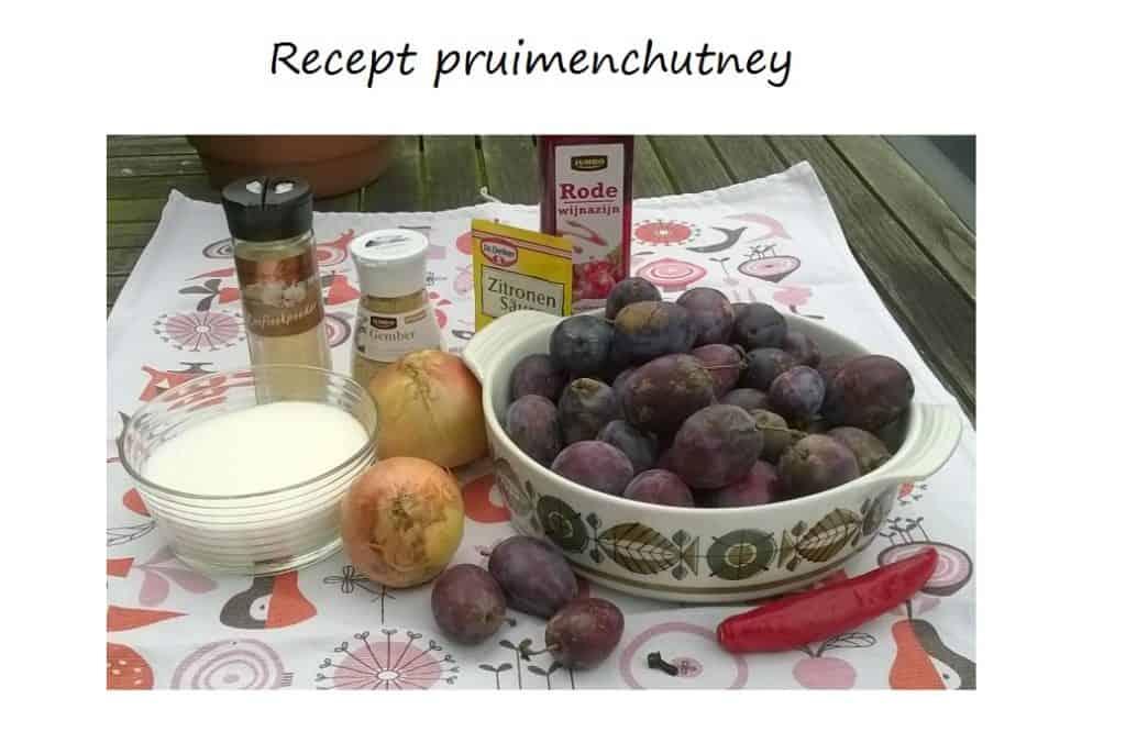 pruimenchutney recept