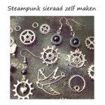 Steampunk sieraad is nostalgisch en futuristisch