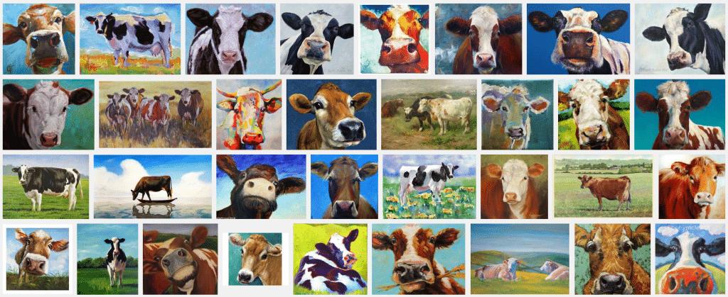dieren beschilderen