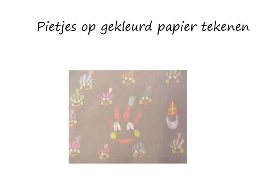 pietjes-op-gekleurd-papier