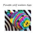 Pinata zelf maken voor feestdagen