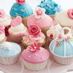 Taart cupcake tableau van karton zelf maken