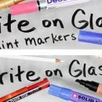 Verrassing schrijven op glas of spiegel