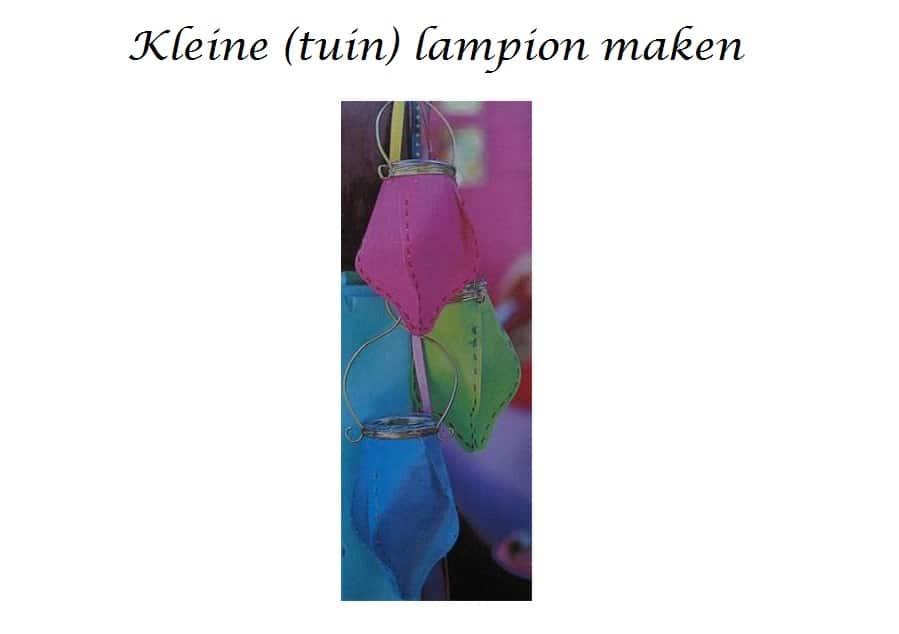 tuinlampion-maken