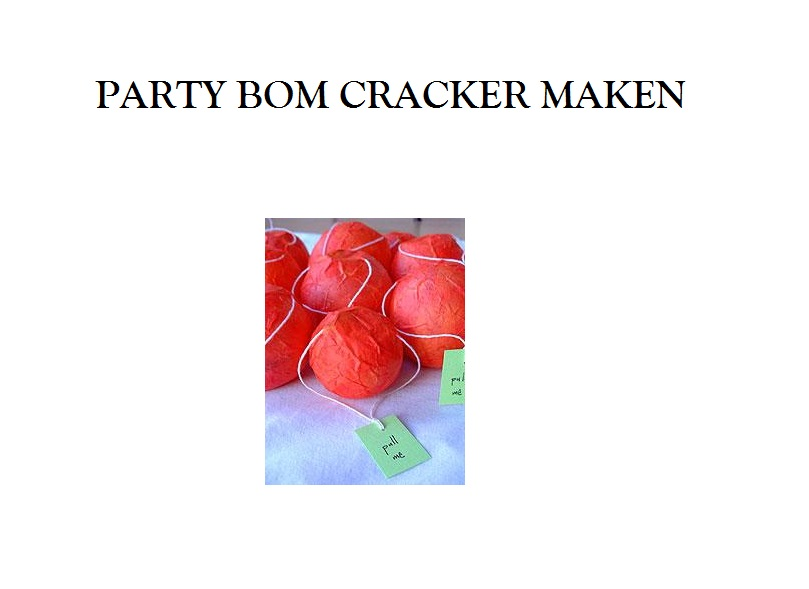 party-bom-cracker-maken