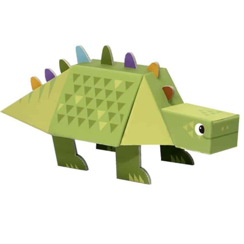 Knutselen met bouwpakket Dino