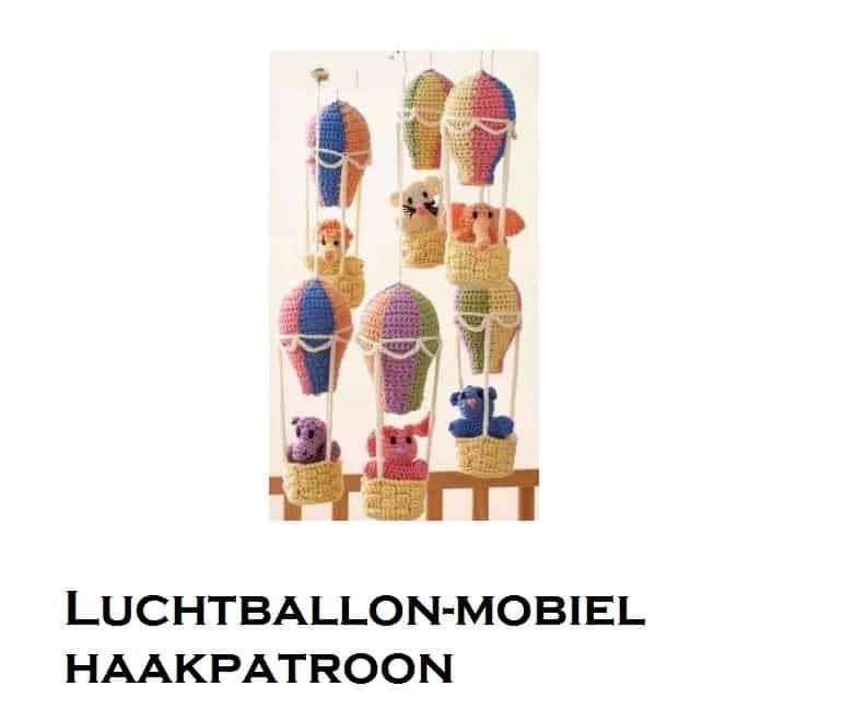 Haakpatroon luchtballonnen mobile haken