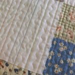 Quilt borduren met hand of naaimachine
