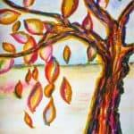 Herfst schilderen met de juiste kleuren
