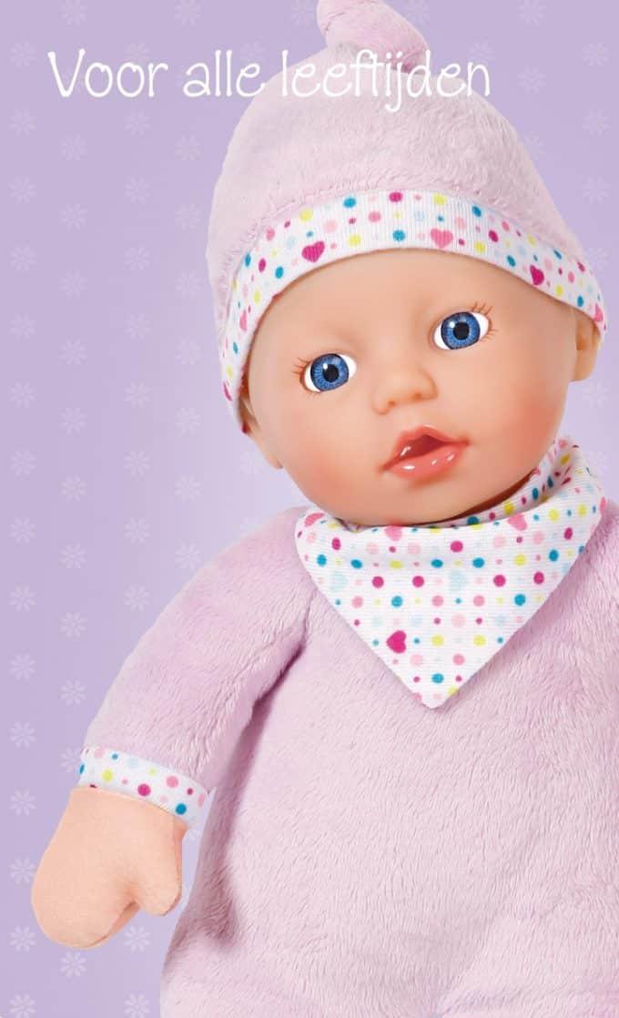 Naaipatronen voor baby born pop