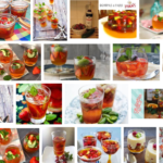 Recept zomerse cocktail als dessert en als drink