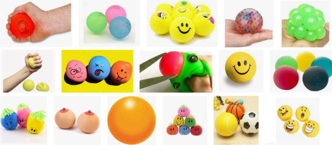 Stressbal stressballon maken als surprise