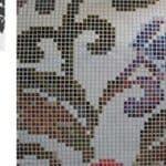 Inspiratie uit patroon klein stukje behang