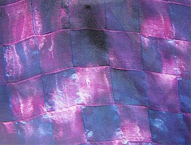 Organza tafelkleed vlechten en naaien