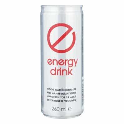 Blik Energie drink als Sinterklaas surprise