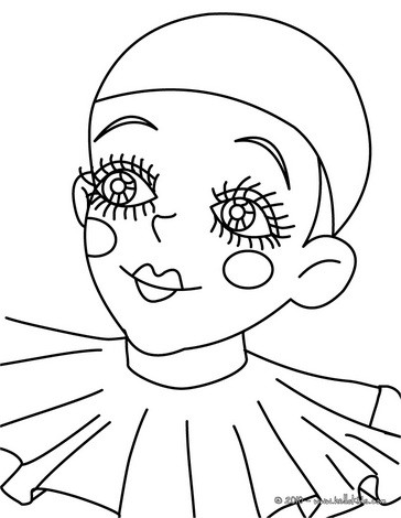 Pierrot als inspiratiebron / Bron: https://abd.video.blog/kleurboek/